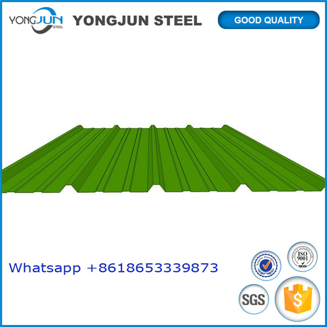 China manufacturer and supplier for long span roofing sheet