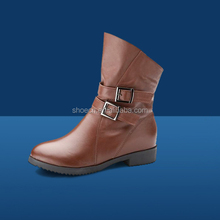 Anti - blow top cow hide leather new design Safety shoe