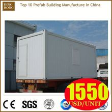 luxury shipping container house, swing door shipping container