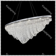 Luxury Modern Italian large Crystal chandelier for Hotel crystal led hanging lights for project mall villa commercial place