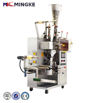 High quality double chamber tea bag packing machine