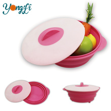 Newest Non-Smell Food Grade Unbreakable Microwave Safe Silicone Bowls