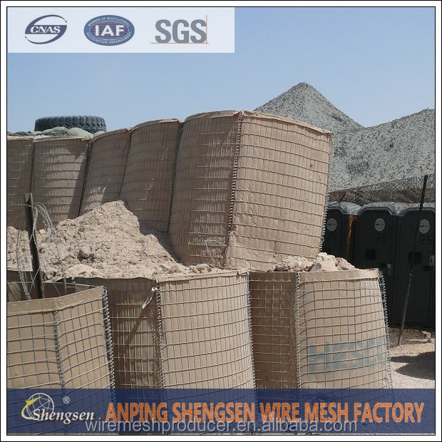 military sand wall hesco barrier for sale