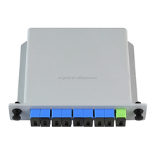FTTH SC/UPC Cassette PLC Optical Splitter 1x8 For PON