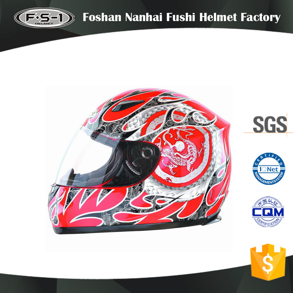 ECE certificate racing motocross helmet with visor,casco bluetooth motor parts helmet