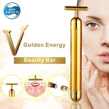 Hot Sale Household Electric Natural Seacret 24k Gold Skin Care