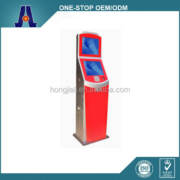 full function self-service ticket payment kiosk with touch screen (HJL-3306A)