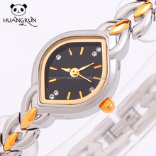 Fashion luxury colour band ladies copper wrist watch