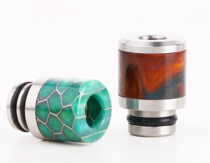 custom Epoxy Resin drip tip 510 resin drip tip