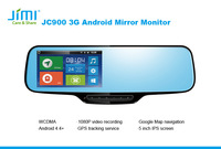 Jimi gps tracking systems 3g Smart Rearview Mirror Car Dvr Wifi Gps On cheap car audio equipment