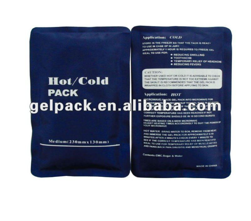 nylon personal care soft hot cold pack