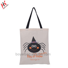 Candy Bags Durable Canvas Trick or Treat Tote Bags Halloween Spider