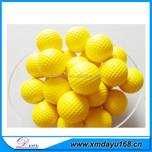 PU Material Golf Shape Ball Stress Reliever Ball