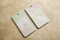 China Directly Factory Customized shoes/kraft paper/plastic/jeans/metal/folded/leather/jewelry hang tag with delicate design