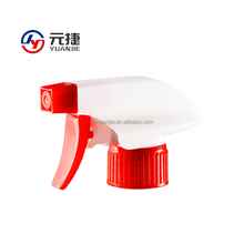 28/410 Plastic chemical resistant trigger spray head for sprayer bottle