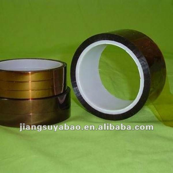 Insulation polyimide film coated Silcone/Acrylic Resin tape for golden finger propection of PCB board