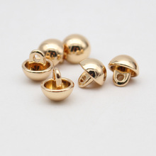 half ball buttons/gold metal dome buttons