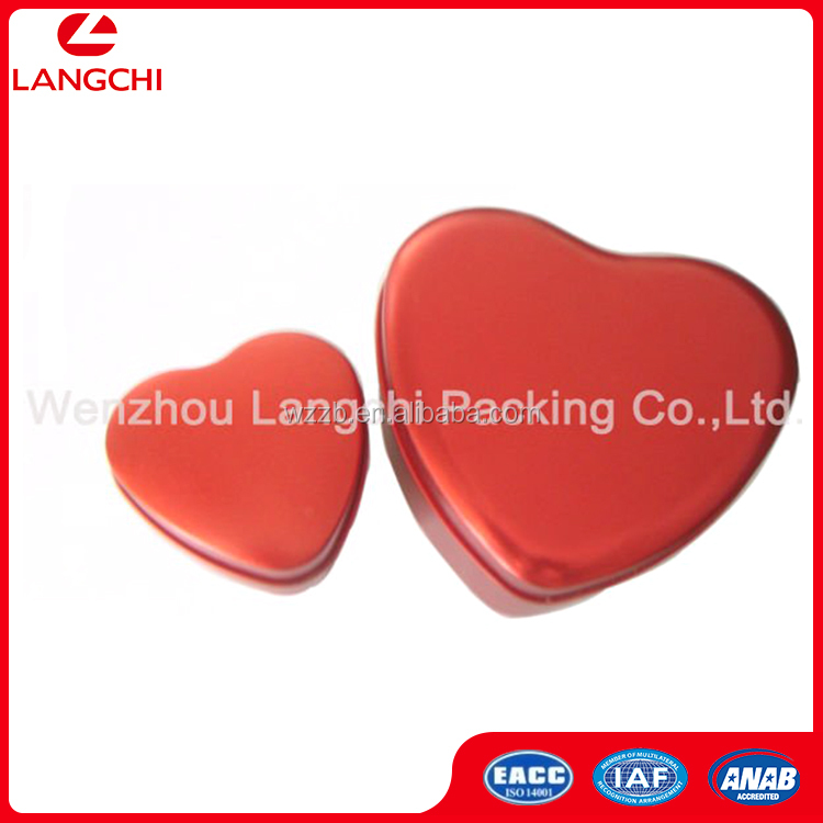 Exquisite Made In China Heart Shaped Wedding Candy Box