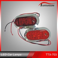 Universal type car tail light chevrolet captiva led tail light waterproof