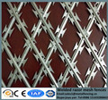 Sharp BTO welded security fencing concertina mesh panels as barrier welded razor wire fence panels