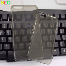 Transparent Clear TPU case for iphone ultra slim 0.3mm thinnest silicone soft flexible cover