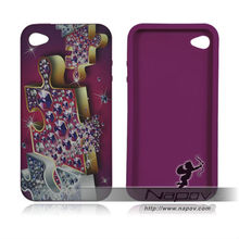custom silicone cases for ipod touch 4g for iphone 4g for blackberry 9320