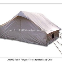 4x4m UN Emergency Tent for Disaster for Haiti and Chile