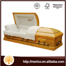 China Coffin Suppliers Cheap European Coffin Wooden Coffin and casket Sales