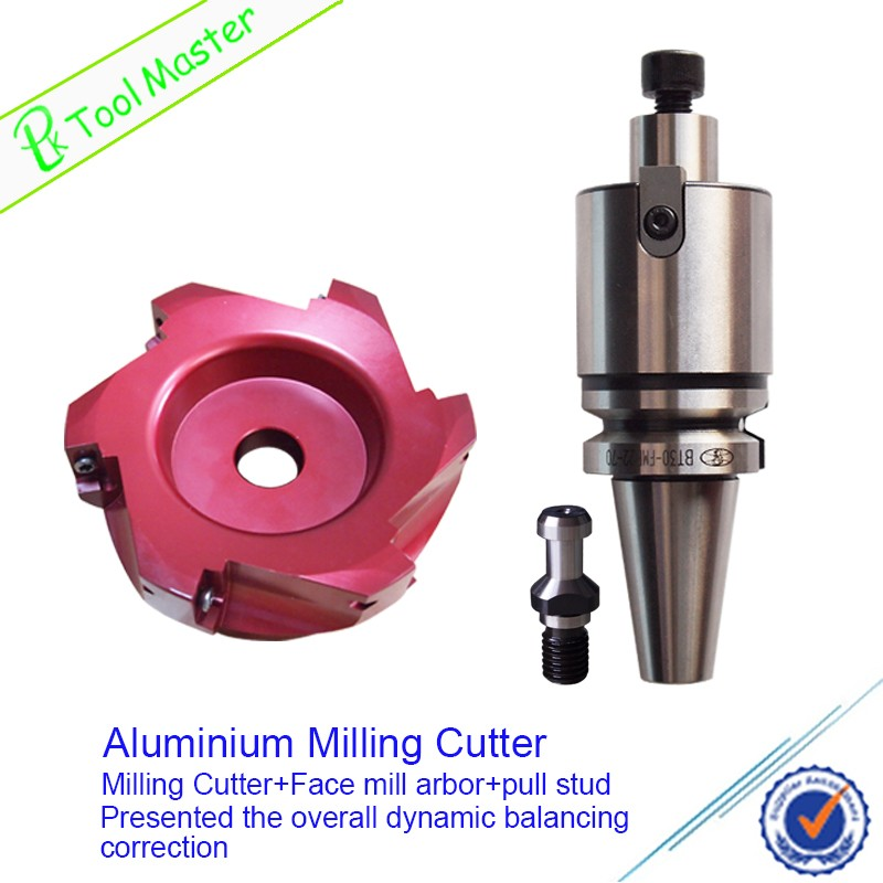 CNC Indexable lighweight face Mill Cutter in Face Mill Tool Holder
