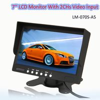 7' 'car stand alone rear view monitor| tft lcd monitor android car gps dvd