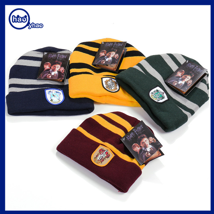 Yhao Custom Beanies Wholesale Knit Stripe Harry Potter Hat For Cosplay Hat