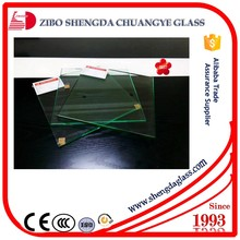 Factory heat strengthened parapet wall glass with thick 4mm--19mm