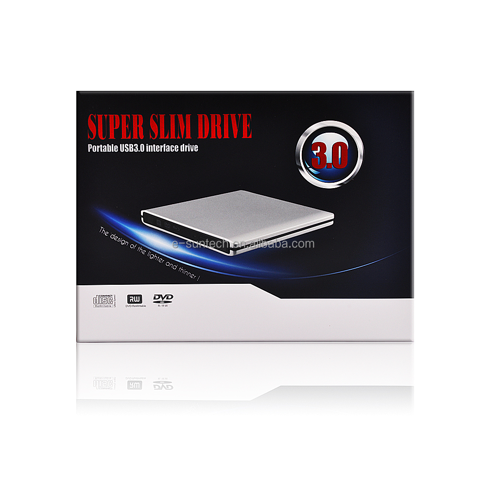 USB3.0 2.5 Inch odd hdd Exchange DVD Drive for laptop