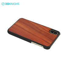 Rosewood hardshell pc full covered shockproof phone case for i phone X mobi cell phone cases