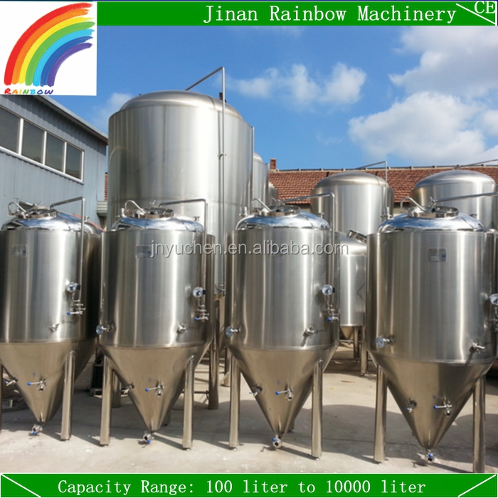 Glycol Jacket Fermentation Tank / Beer Fermenter/ Stainless Steel Conical Fermenter for Sale