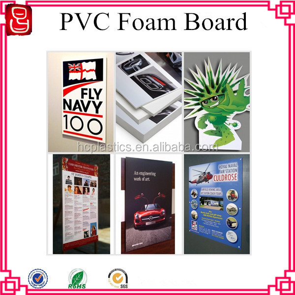 Low Price thin foam sheet pvc printing sheets