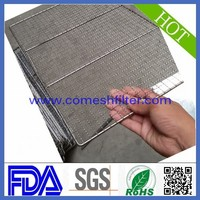 stainless steel bbq grill baking tray wire mesh