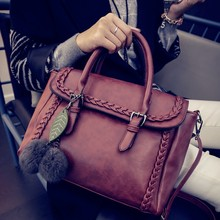 Get quotation in 20 mins! Model no.B-647 new fashion winter style tote women handbag supplier wholesale pu lady bag