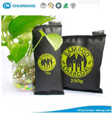 Home Air Freshener Use and Eco-Friendly Feature Bamboo Charcoal bag absorb the odor and formaldehyde