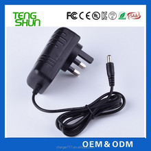 100-240v ac dc 5v 3a 9v 2a 12v 1.5a wall mount uk plug power adapter/adapters