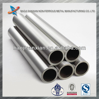 ASTM seamless titanium exhaust tube