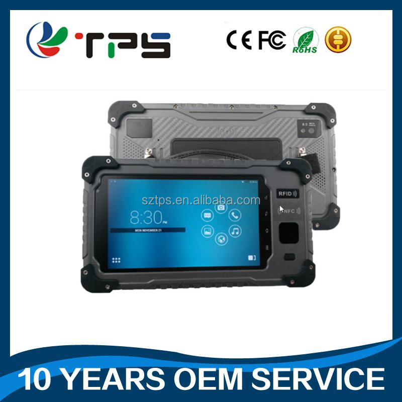 military tablet fingerprint reader full function tablet Rugged from S70L, NFC OTG USB Port optional