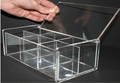 Clear Acrylic Box With Lid / Plexiglass Storage Box