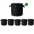 Orientrise 10-Pack   1 gallon Plant Grow Bag Aeration Fabric Pots with Handles Prevent Root Circling Portable Perme