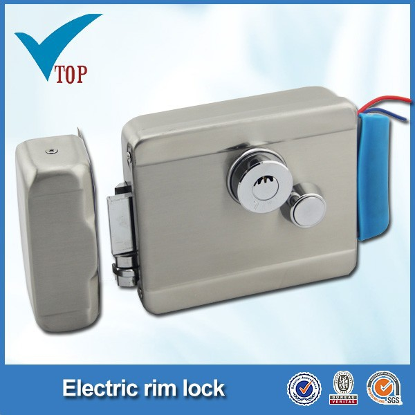 electric single door wrought iron gate lock D88A/S