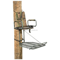 Stalker steel tree ladder high seat deer outdoor comfortable hunting tree stand