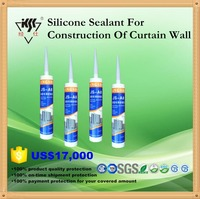 One component neutral Silicone Sealant for Large Glass Panel with factory price , fast cure , RTV silcone sealant,