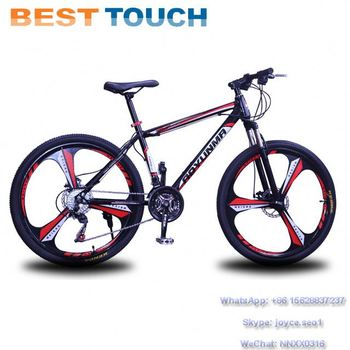 26*2.125 Tires 3 6 Spoke Rim Portable High Carbon Steel Frame 18 21 24 27 Speed Mountain Bike