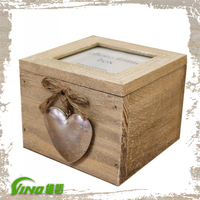 Decorative Pine Wood Gift Box, Wooden Box Jewelry, Case Box