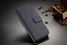 Cell Phone Book Style Stand Magnetic Flip Leather Cover Case for Fly IQ4490i
